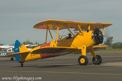 Visiting Stearman