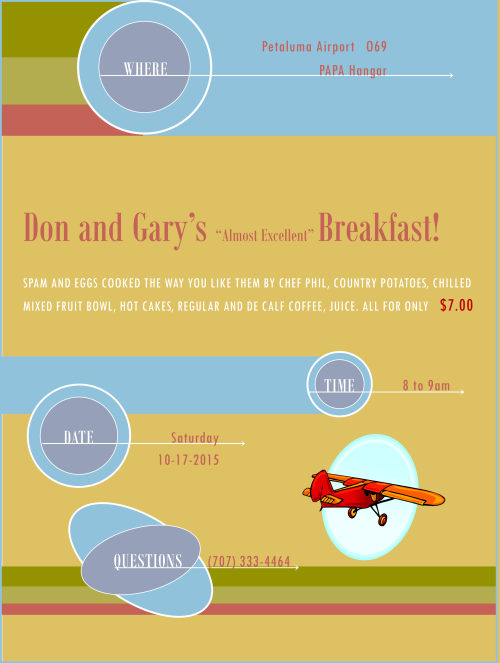10-17-2015 Don and Garys Breakfast